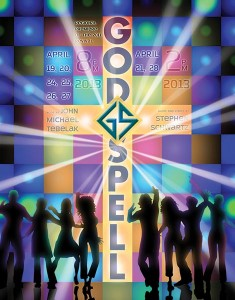 Official Godspell Poster
