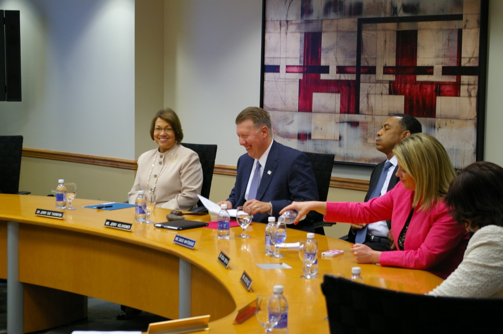 At a special board of trustees meeting May 14, the fourth president of Cuyahoga Community College was selected.