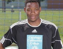 Sophmore Tevin Williams. Photo provided by Cuyahoga Community College