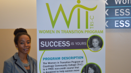 Director of Women In Transition Cicely Campbell at eastern Campus location. Photo by Isaiah Jackson